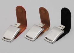 Эксклюзивный кожаный USB флэш-диск (T-042)