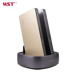 عرض ترويجي على الجست (Wst): هدية ABS + طاقة الألومنيوم بنك USB المحمول محطة إرساء الهاتف العامة