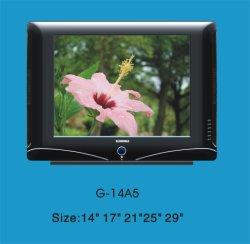 純粋で平らなCRT TV