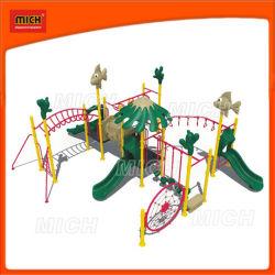 Детей игровая площадка для установки вне помещений объекта (2249B)