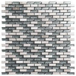 Мозаичное оформление (камень с GlassDSG1213, 1267, 1230)