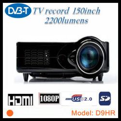 Soporte proyector LED HD de la función de grabación de DVB-T