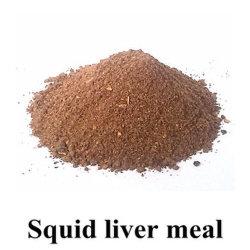 Polvere/pasto del fegato del calamaro