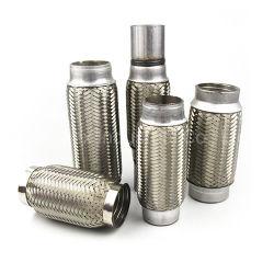 사용자 정의 범용 플렉시블 스테인리스 스틸 자동 부품 배기 머플러 파이프 니플(차량용/트럭 액세서리용