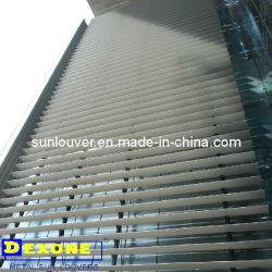 Aerofoil aluminio exterior de la arquitectura de persiana de ventana