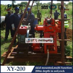 Sale를 위한 미끄럼 Mounted Portable Soil Investigation Drilling Rig