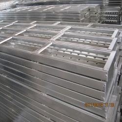 La vente d'échafaudage en métal galvanisé à chaud Plank, planche de cartes d'acier, acier