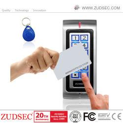 Telecomando di accesso porta RFID con impronte digitali autonomo in metallo impermeabile con retroilluminazione Kaypad