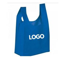 Meistverkaufte nicht gewebte Handtasche mit Logo-Druck