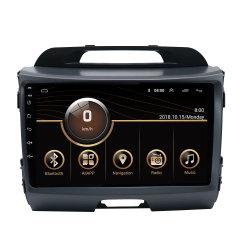 مشغل أقراص DVD لصوت السيارة رباعي النواة بنظام Android 10 لـ Kia Sportage 2011-2015 WiFi GPS راديو استيريو وتشغيل فيديو