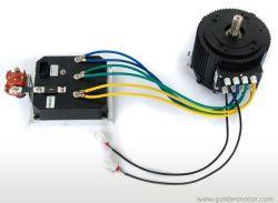 48V-120V, 5KW e 10 kw BLDC eléctrico Motor de carro