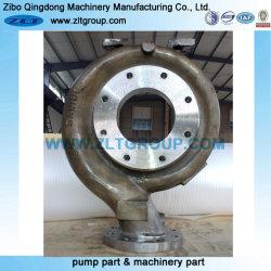 Machines de moulage au sable Carter de pompe centrifuge de Produits Chimiques Partie de la pompe en acier inoxydable/CD en acier au carbone4/316ss/titane