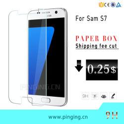 verre trempé de gros de la gamme Protection Ecran pour Samsung S7/S7 Edge