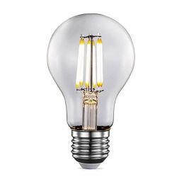 도매 가격 4W 6W 8W 10W 12W Edison 램프 E26 E27 디미블 A60 LED 필라멘트 전구 LED 램프