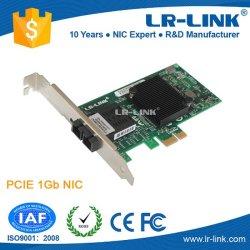 Lrec6220PF Pcie 1000base-Sx/Lx 1g 기가비트 Sc St SFP 연결관 섬유 Nic 네트워크 인터페이스 카드