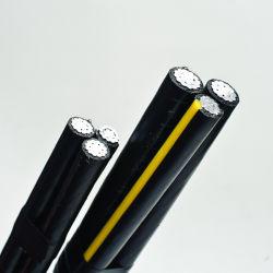 Les frais généraux de l'antenne en aluminium Bundle Service Duplex/Triplex Câble de descente