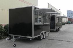 Небольшой жилого прицепа Fast Food общественного питания прицепа прицепов для продажи в палатке дешевые ломтик хлеба питание прицепа