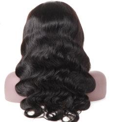 Prix de gros Hot Fashion beauté des cheveux humains Lace Wig corps vague Full Lace Wig perruques de stock