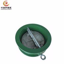 Fundição de liga de aço personalizado de partes do corpo da bomba com revestimento a pó