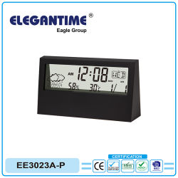 Horloge numérique avec des matériaux en alliage de zinc pour le commerce de gros