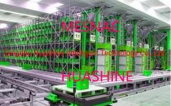 La transformation et de stockage intelligente de la production de produits de lavage à l'aide Huashine ASR de marque Agv Rgv EMS et d'Empilement complètement de la conception d'intégration de grue