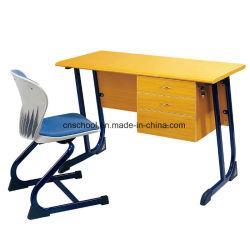L'École de métal MDF Enseignant Bureau et chaise