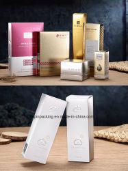 Piccolo contenitore di carta impaccante cosmetico su ordinazione di olio di oliva di massaggio della casella