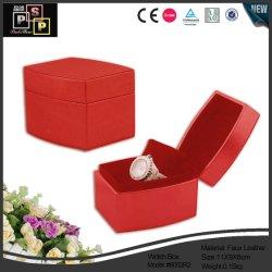 Kundenspezifischer Samt-Bildschirmanzeige-Uhr-Geschenk-Kasten (8052R2)
