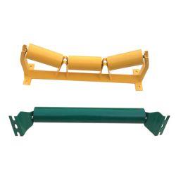 Rullo di guida d'acciaio dell'ala dell'elemento portante di /Trough/Troughing/Carry/Carrying/Return di effetto dell'HDPE di JIS per il nastro trasportatore