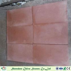 Des pierres naturelles de matériaux de construction en grès rouge pour les Carreaux et dalles/Paving Stone