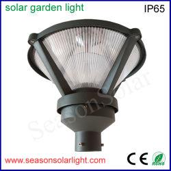 Nuova lampada solare esterna solare del giardino delle lampade 10W della fabbrica per illuminazione dell'iarda del giardino con i doppi indicatori luminosi del LED
