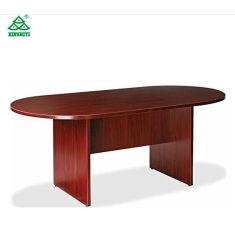 Les planchers série personnalisé en acajou table de conférence différentes tailles de forme différente