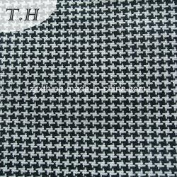 Balck Tecido de mobiliário e tecidos brancos Verificar Tecido Sofá