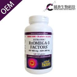 Omega 어유 보충교재 환약 균형 혈액 뚱뚱한 Softgel 3개의 캡슐