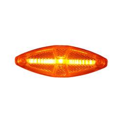 광학 스트립 LED 간극 측면 마커 조명 내장 리플렉스 리플렉터 트레일러 트럭 버스 버스 정류용 라이트 가이드 바 기술 포함 LED 마커 조명