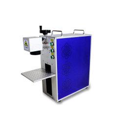 50W Portable 쪼개지는 소형 섬유 Laser 표하기 기계 Laser 장비