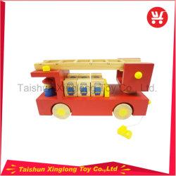 Деревянные пожара пожара пожара Truckbrand Modelsimulated погрузчика погрузчик образовательные игрушки для мальчиков
