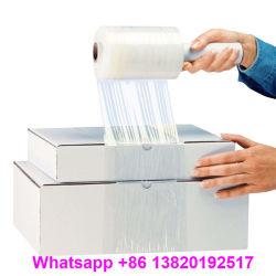 Cor Preta azul transparente Embalagem de plástico LLDPE esticar o preço de filme
