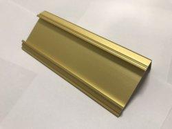 6063 T5 drijf het Profiel van het Aluminium met Geanodiseerde Oppervlakte uit