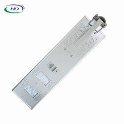 réverbère solaire Integrated du détecteur DEL de 40W PIR