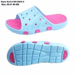 Impresos personalizados zapatilla en la playa, alta calidad de la mujer EVA zapatilla