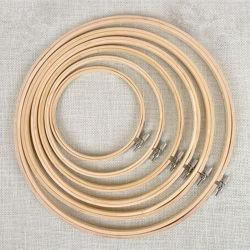 Rundes Stickerei-Band-Kreuz-Bambusrahmen-Ausgangsdekoration