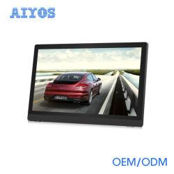 مشغل فيديو رقمي عالي الدقة من نوع LED GIF LCD مثبت على الحائط بالجملة