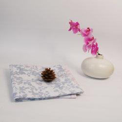 Fr71 standard coton imprimé floral hôtel bon marché serviette de papier chiffon Dîner
