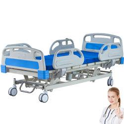 Usine balustrade de protection de la tête de l'ABS PP Conseil repose-pieds Angel 35 degré hôpital médical de la fonction de levage électrique de lit