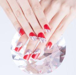 새로운 형식 빨간 비스듬한 다이아몬드 대리석 틀린 못 관 긴 인공적인 못