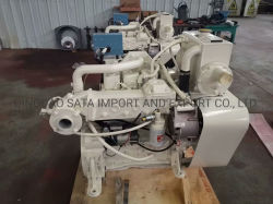 130 CV de la serie de 4 cilindros 4BTA Marina Motor Motor Cummins