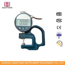 Los medidores de espesor pintura digital medidor de espesor de tejido de instrumento de prueba