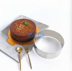 Tarta de mousse de Heart-Shaped redondo cuadrado Círculo de moldes moldes de herramientas (ZME-71001)