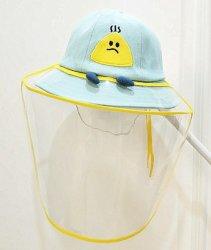 Los niños de la cuchara de algodón BSCI sombreros con tapa transparente protege
